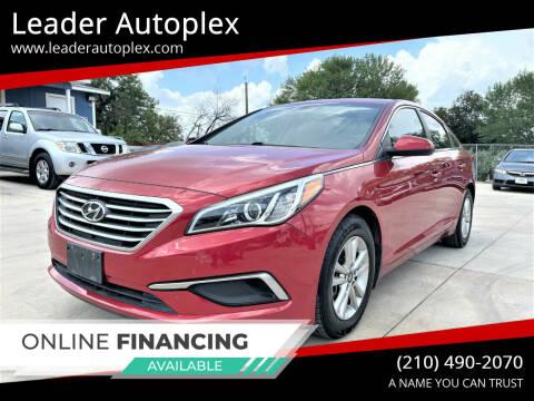 2017 Hyundai Sonata for sale at Leader Autoplex in San Antonio TX