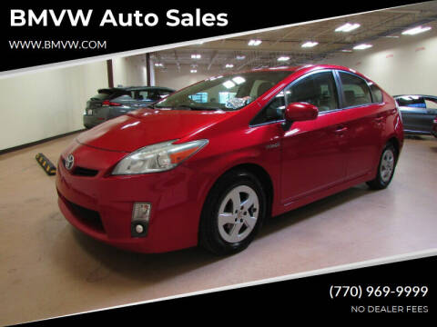 2010 Toyota Prius for sale at BMVW Auto Sales - Hybrids in Union City GA