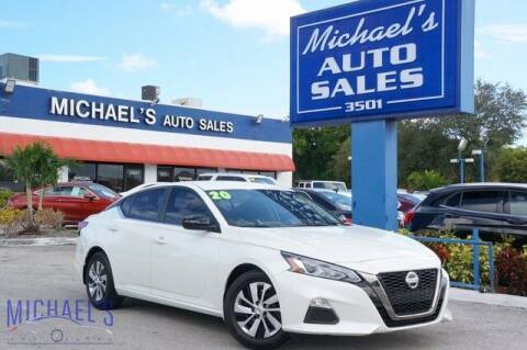 2020 Nissan Altima for sale at Michael's Auto Sales Corp in Hollywood FL