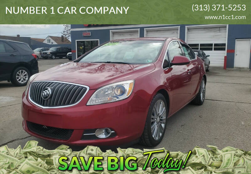 2012 Buick Verano for sale at NUMBER 1 CAR COMPANY in Detroit MI