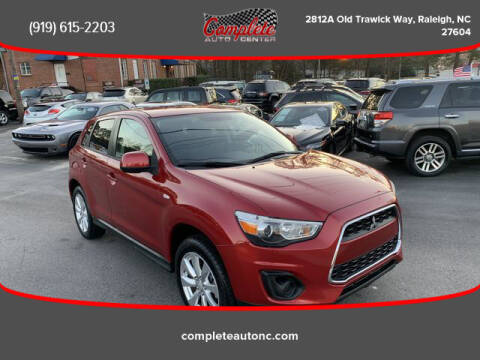 2015 Mitsubishi Outlander Sport for sale at Complete Auto Center , Inc in Raleigh NC