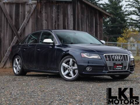 2010 Audi S4 for sale at LKL Motors in Puyallup WA