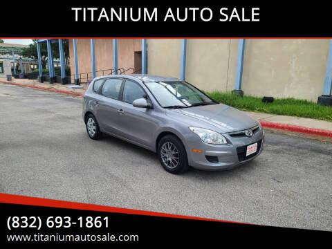 2012 Hyundai Elantra Touring for sale at TITANIUM AUTO SALE in Houston TX