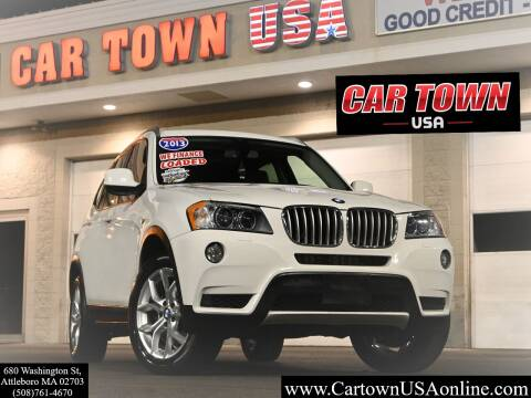 2013 BMW X3 for sale at Car Town USA in Attleboro MA