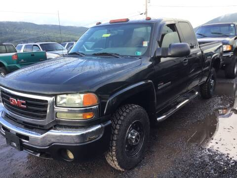 2004 GMC Sierra 2500HD for sale at Troys Auto Sales in Dornsife PA
