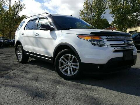 2014 Ford Explorer for sale at GLOVECARS.COM LLC in Johnstown NY