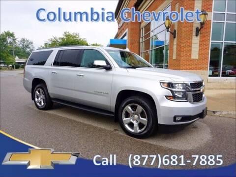 2017 Chevrolet Suburban for sale at COLUMBIA CHEVROLET in Cincinnati OH