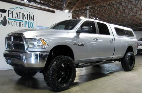 2014 RAM Ram Pickup 2500 for sale at Platinum Motors in Portland OR