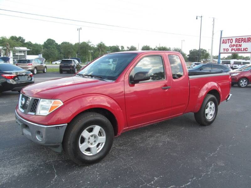 2006 Nissan Frontier for sale at Blue Book Cars in Sanford FL