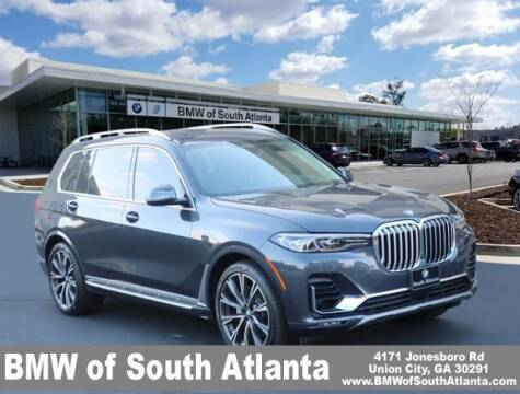 2019 BMW X7 for sale at Carol Benner @ BMW of South Atlanta in Union City GA