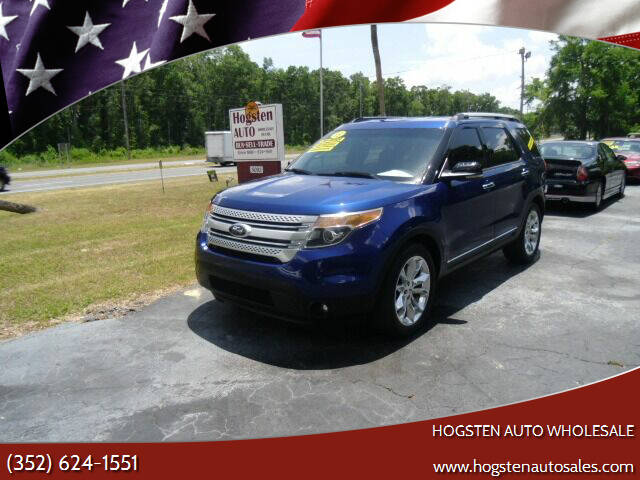 2013 Ford Explorer for sale at HOGSTEN AUTO WHOLESALE in Ocala FL