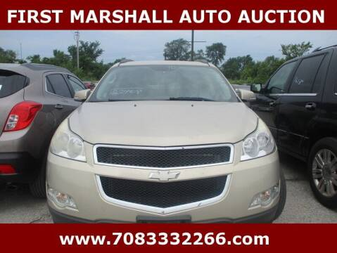 2010 Chevrolet Traverse for sale at First Marshall Auto Auction in Harvey IL