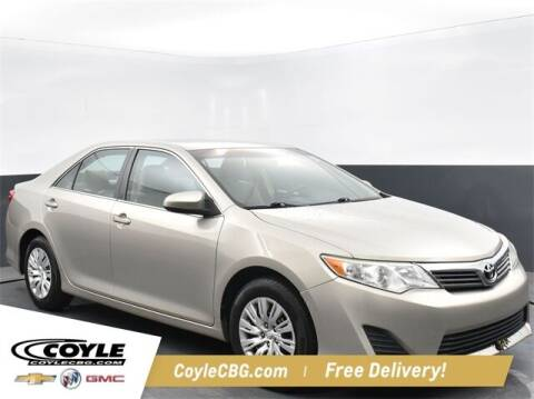 2013 Toyota Camry for sale at COYLE GM - COYLE NISSAN - New Inventory in Clarksville IN