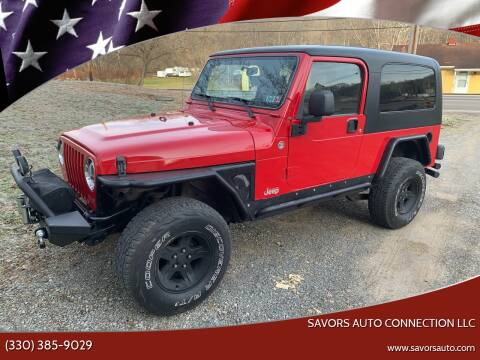 2006 Jeep Wrangler for sale at SAVORS AUTO CONNECTION LLC in East Liverpool OH