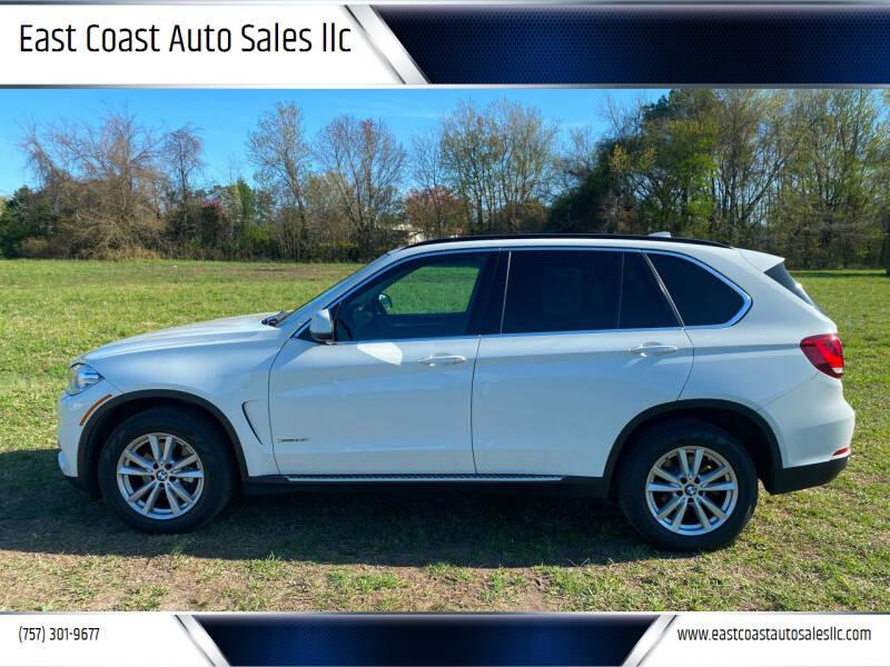 2014 BMW X5 for sale at East Coast Auto Sales llc in Virginia Beach VA