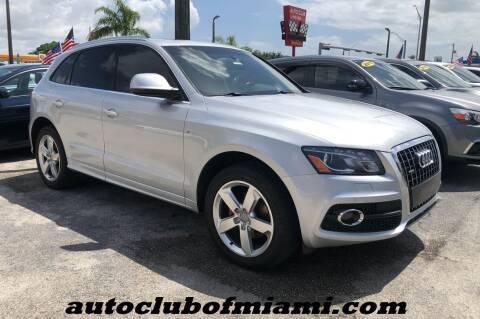 2012 Audi Q5 for sale at AUTO CLUB OF MIAMI, INC in Miami FL