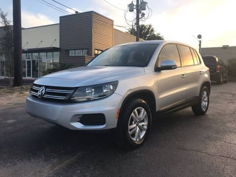 2013 Volkswagen Tiguan for sale at Saipan Auto Sales in Houston TX