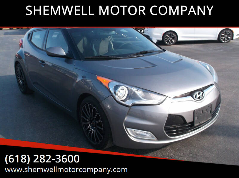 2012 Hyundai Veloster for sale at SHEMWELL MOTOR COMPANY in Red Bud IL