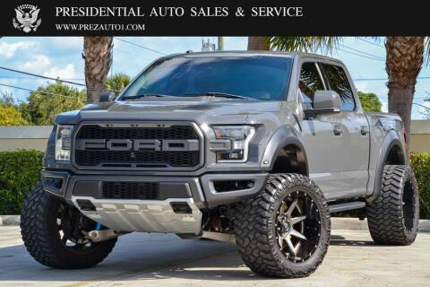 2018 Ford F-150 for sale at Presidential Auto  Sales & Service in Delray Beach FL