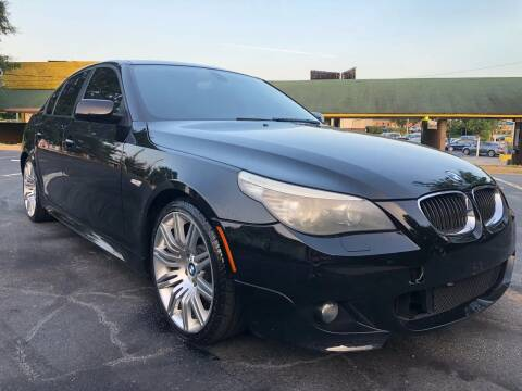 2008 BMW 5 Series for sale at Top Notch Luxury Motors in Decatur GA