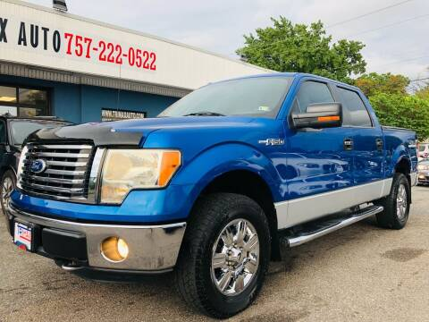 2011 Ford F-150 for sale at Trimax Auto Group in Norfolk VA