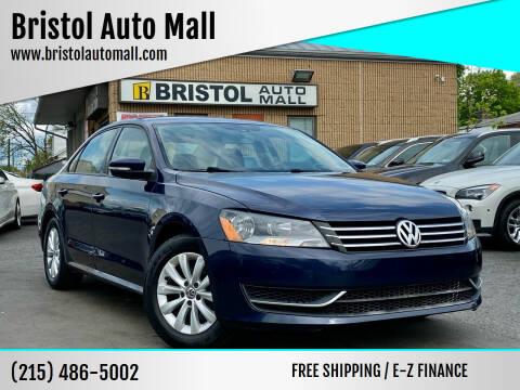 2013 Volkswagen Passat for sale at Bristol Auto Mall in Levittown PA