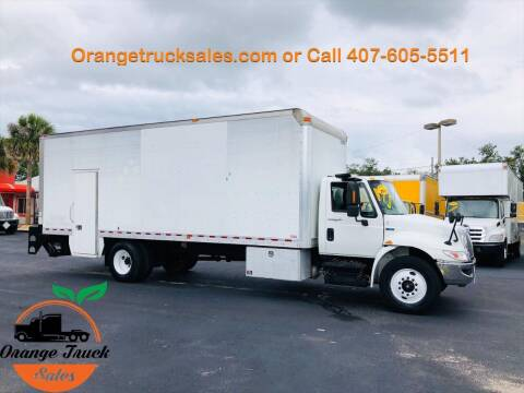 2012 International DuraStar 4300 for sale at Orange Truck Sales in Orlando FL