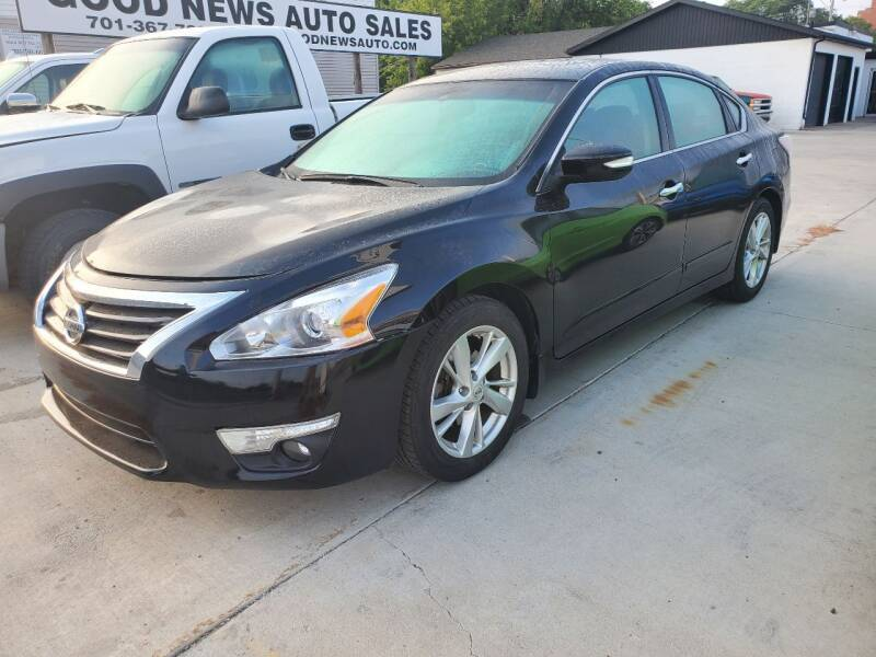 2014 Nissan Altima for sale at GOOD NEWS AUTO SALES in Fargo ND