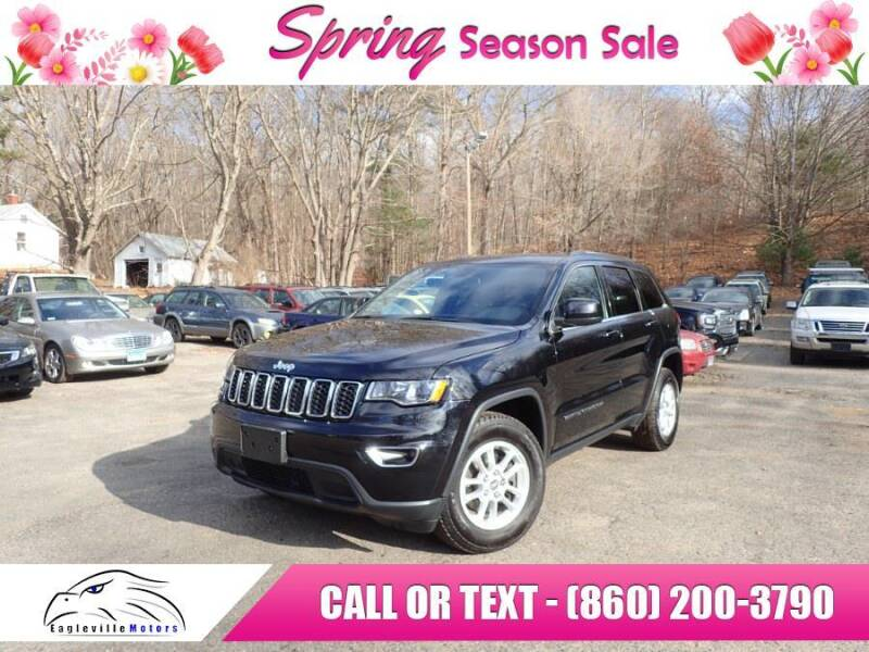 2018 Jeep Grand Cherokee for sale at EAGLEVILLE MOTORS LLC in Storrs CT