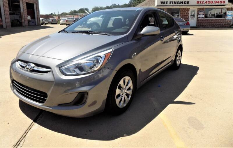 2016 Hyundai Accent for sale at Lewisville Car in Lewisville TX