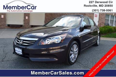 2011 Honda Accord for sale at MemberCar in Rockville MD