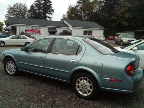 2000 Nissan Maxima for sale at Locust Auto Imports in Locust NC