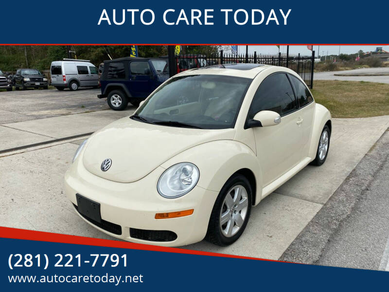 2007 Volkswagen New Beetle for sale at AUTO CARE TODAY in Spring TX