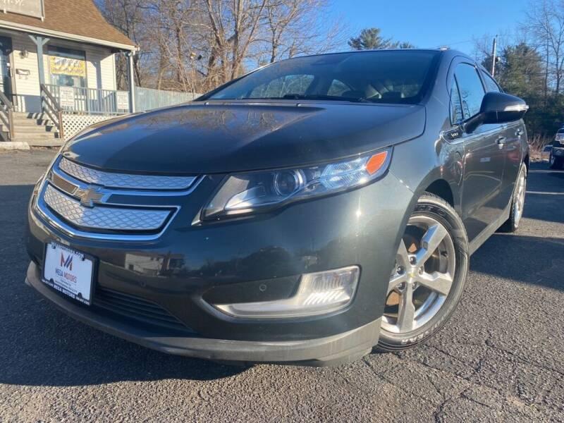 2014 Chevrolet Volt for sale at Mega Motors in West Bridgewater MA