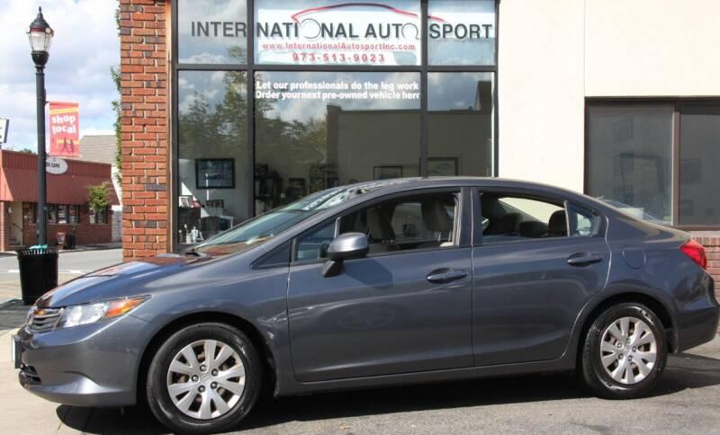 2012 Honda Civic for sale at INTERNATIONAL AUTOSPORT INC in Pompton Lakes NJ