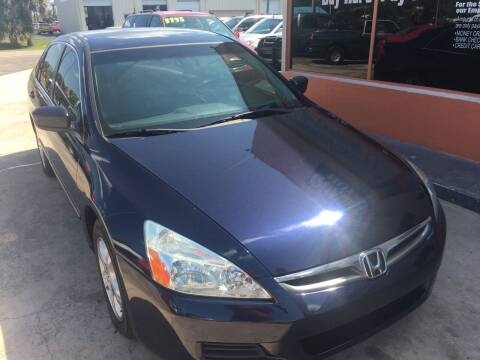 2007 Honda Accord for sale at QUALITY AUTO SALES OF FLORIDA in New Port Richey FL