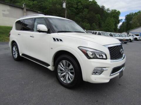 2017 Infiniti QX80 for sale at Specialty Car Company in North Wilkesboro NC