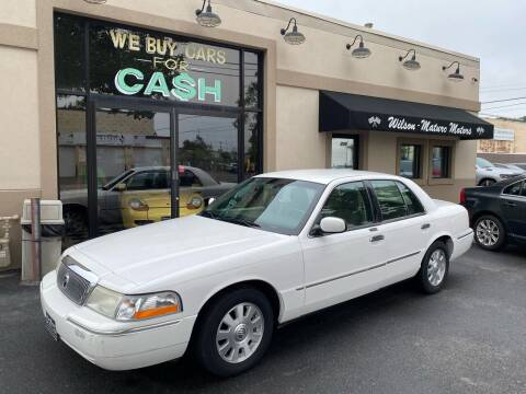 2003 Mercury Grand Marquis for sale at Wilson-Maturo Motors in New Haven CT