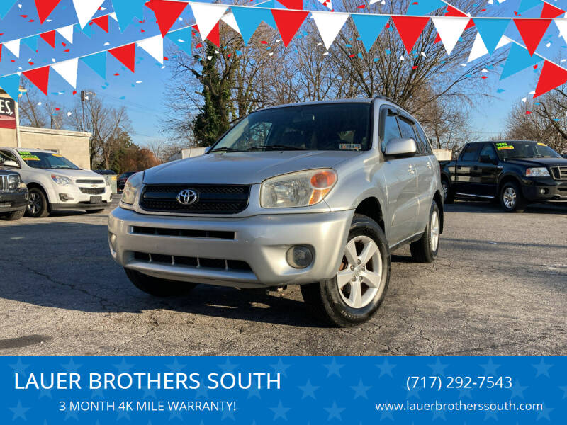 2004 Toyota RAV4 for sale at LAUER BROTHERS SOUTH in York PA