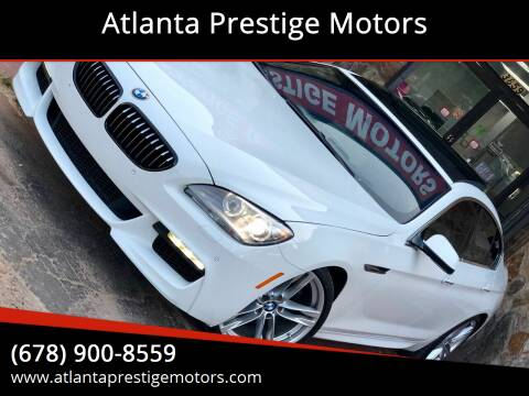 2013 BMW 6 Series for sale at Atlanta Prestige Motors in Decatur GA