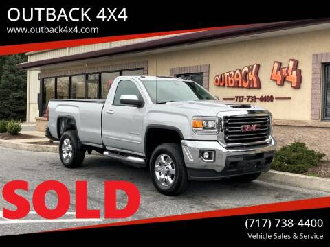 2017 GMC Sierra 2500HD for sale at OUTBACK 4X4 in Ephrata PA