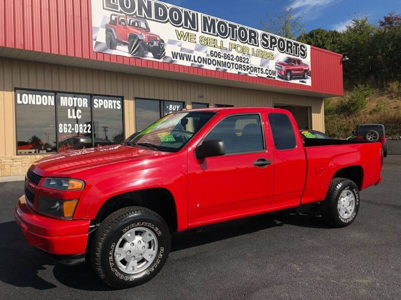 2008 Chevrolet Colorado for sale at London Motor Sports, LLC in London KY
