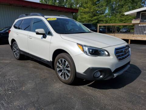 2017 Subaru Outback for sale at Drive Motor Sales in Ionia MI