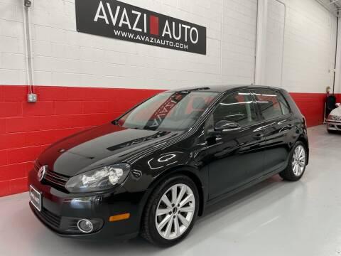 2013 Volkswagen Golf for sale at AVAZI AUTO GROUP LLC in Gaithersburg MD