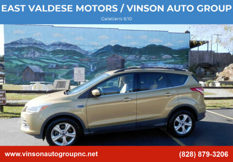 2014 Ford Escape for sale at EAST VALDESE MOTORS / VINSON AUTO GROUP in Valdese NC