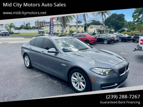 2014 BMW 5 Series for sale at Mid City Motors Auto Sales in Fort Myers FL