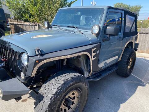 2015 Jeep Wrangler for sale at Z Motors in Chattanooga TN
