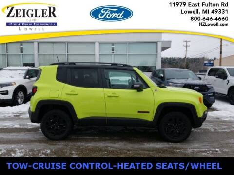 2018 Jeep Renegade for sale at Zeigler Ford of Plainwell- michael davis in Plainwell MI
