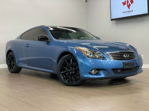 2011 Infiniti G37 Coupe for sale at TX Auto Group in Houston TX
