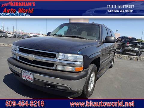 2005 Chevrolet Suburban for sale at Bruce Kirkham Auto World in Yakima WA